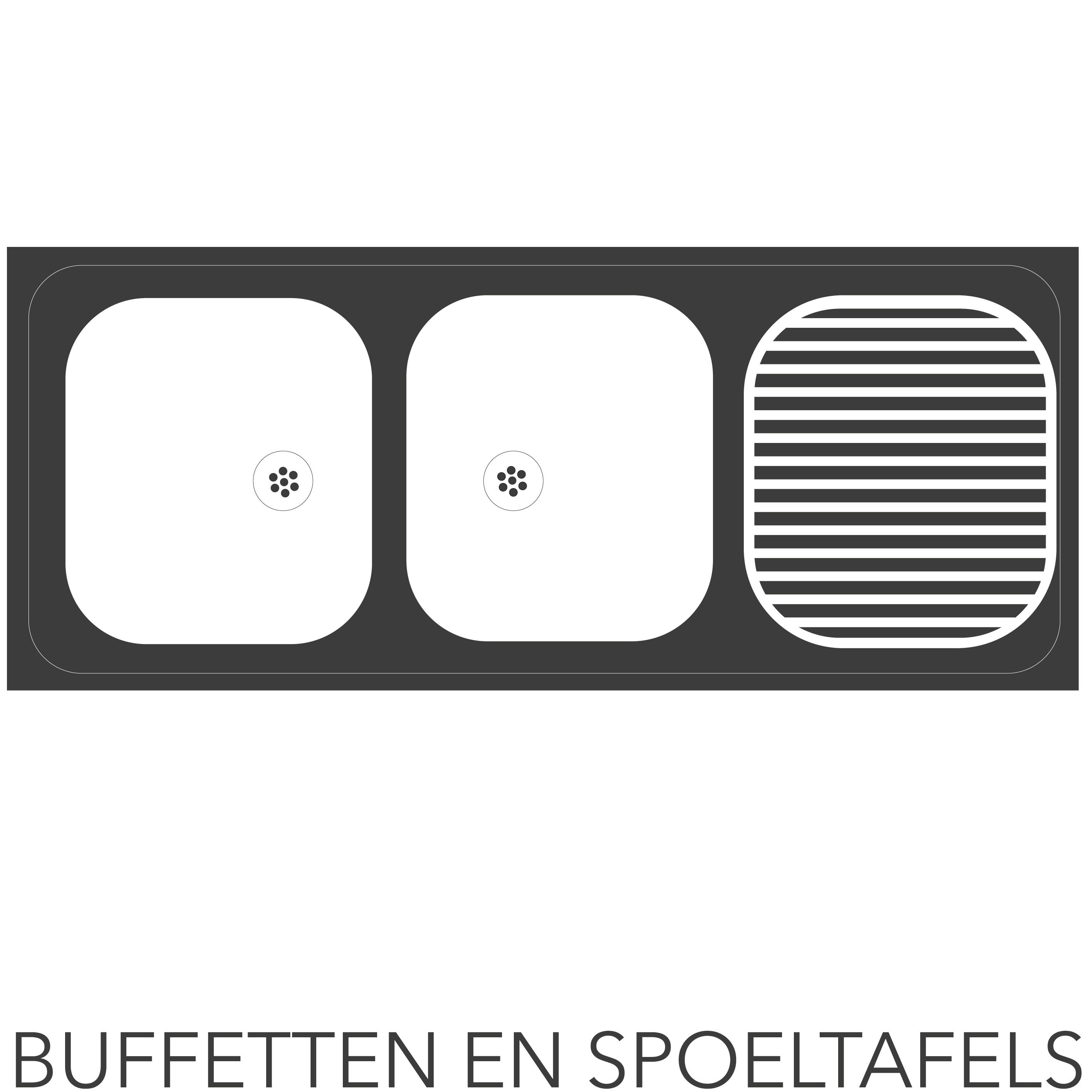 buffetten en spoeltogen casarent
